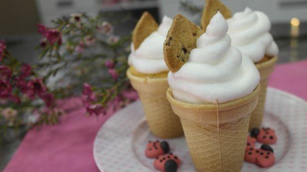 Enies fluffig-leichte Eiswaffel Cupcakes