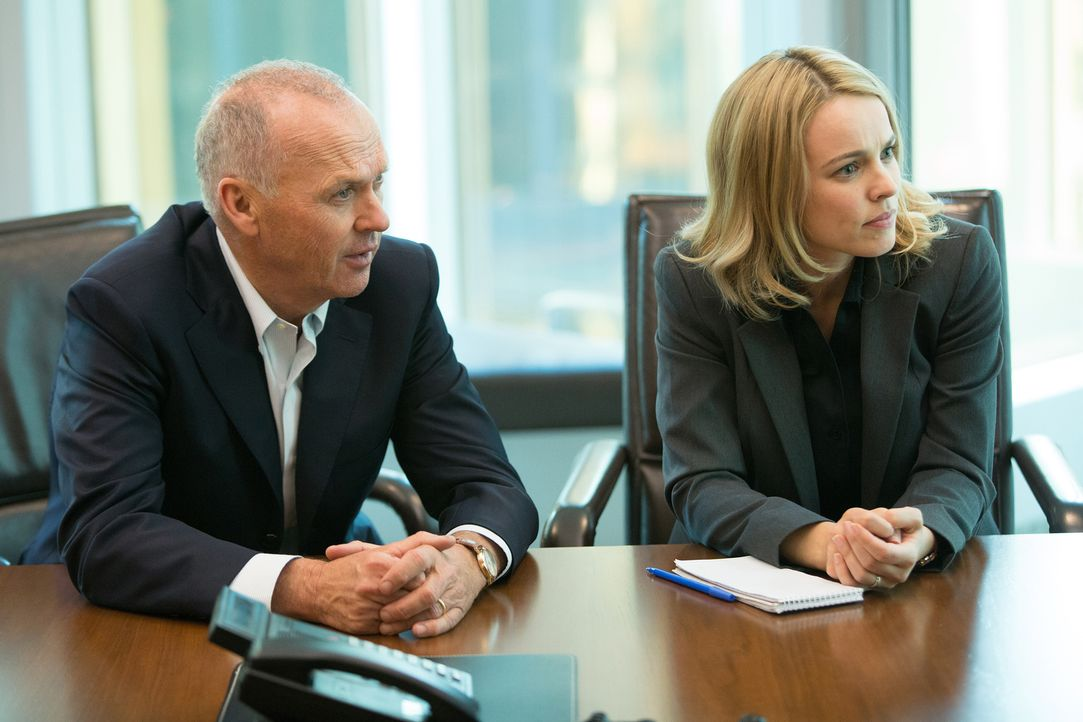 Robby (Michael Keaton, l.) und Sacha (Rachel McAdams, r.) erkennen schnell, dass nicht nur die römisch-katholische Kirche in Boston alles daransetzt... - Bildquelle: Kerry Hayes 2015 Paramount Pictures. All Rights Reserved./Kerry Hayes