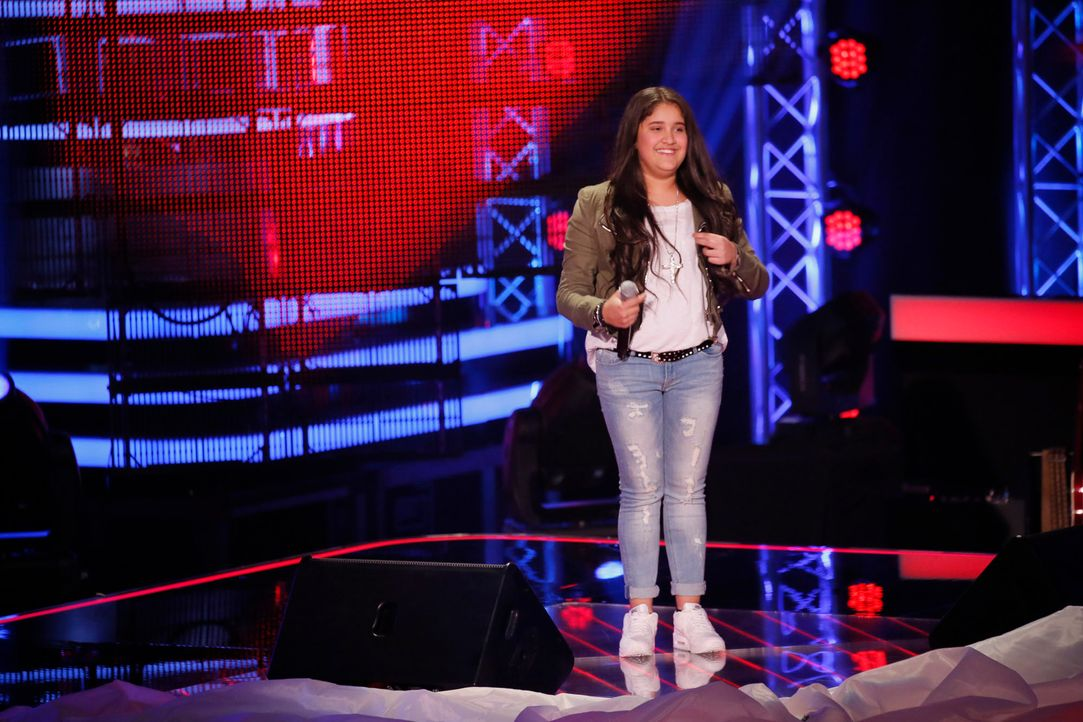 The-Voice-Kids-s04e02-Shayene-4-SAT1-Richard-Huebner - Bildquelle: © SAT.1/ Richard Hübner