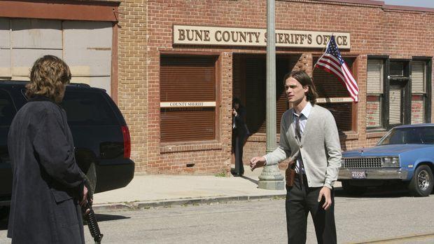 Reid (Matthew Gray Gubler, r.) kann sich in die Psyche von Owen Savage (Cody...