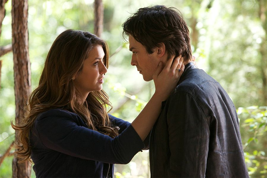 Delena heiraten - Bildquelle: Warner Bros. Entertainment Inc.
