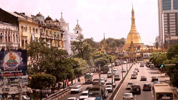 Boom in Birma