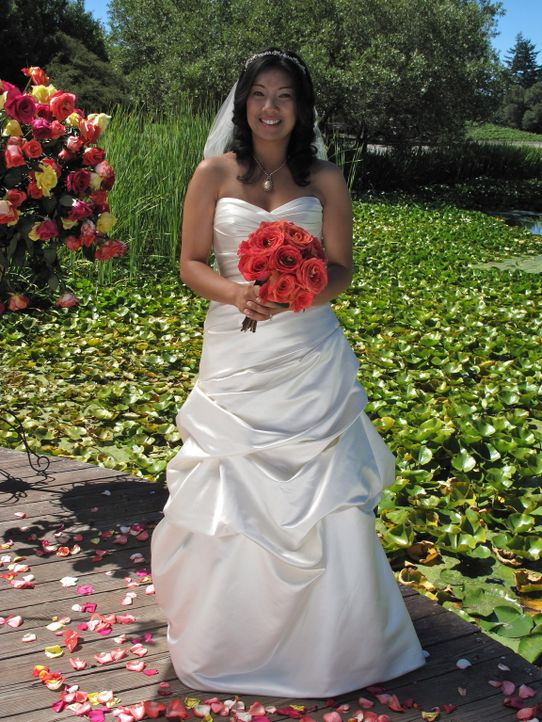 Auch Evelyn möchte die perfekte Hochzeit feiern und die traumhafte Hochzeitsreise gewinnen ... - Bildquelle: Richard Vagg DCL