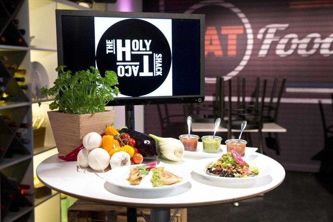 """Ist das """"The Holy Taco Shack"""" von Anika und Geoff eine Investition wert? - Bildquelle: Richard Hübner kabel eins"""