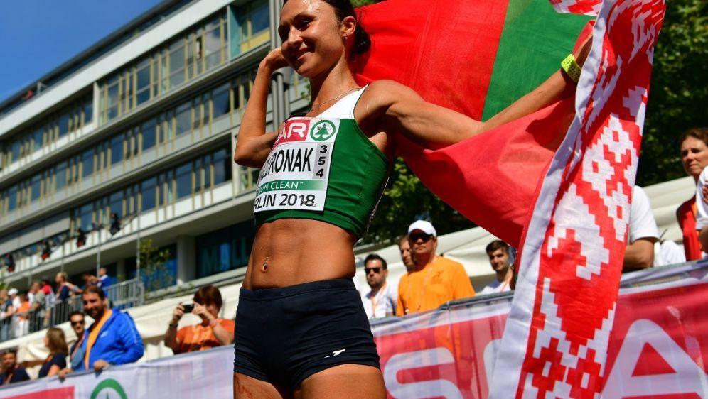 Gold für Weißrussland: Masuronak gewinnt EM-Marathon - Bildquelle: AFPSIDAndrej ISAKOVIC
