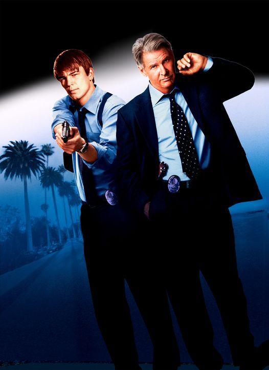 Hollywood Cops mit Josh Hartnett ( l. ) und Harrison Ford (r.) - Bildquelle: 2003 Sony Pictures Television International. All Rights Reserved.