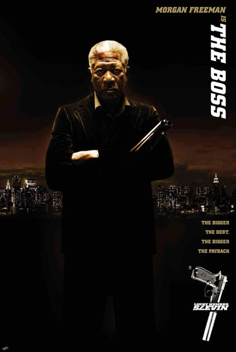 Lucky Number Slevin - mit Morgan Freeman - Bildquelle: Metro-Goldwyn-Mayer (MGM)