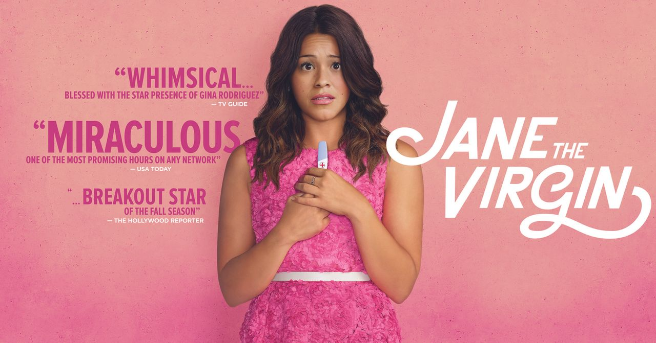 (1. Staffel) - JANE THE VIRGIN - Plakatmotiv - Bildquelle: 2014 The CW Network, LLC. All rights reserved.