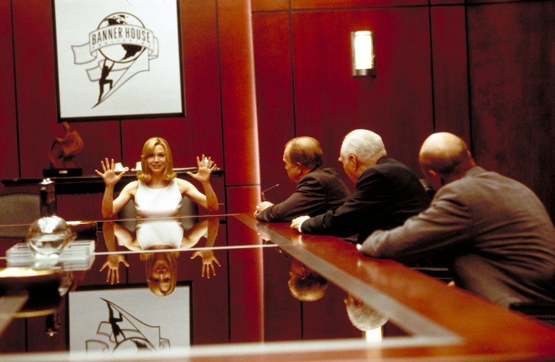"""Sex? Bitte gern. Liebe? Nein, danke: In ihrem Emanzipationsratgeber """"Down with Love"""" fordert Barbara (Renée Zellweger, l.) die Gleichstellung von M... - Bildquelle: Epsilon Motion Pictures"""