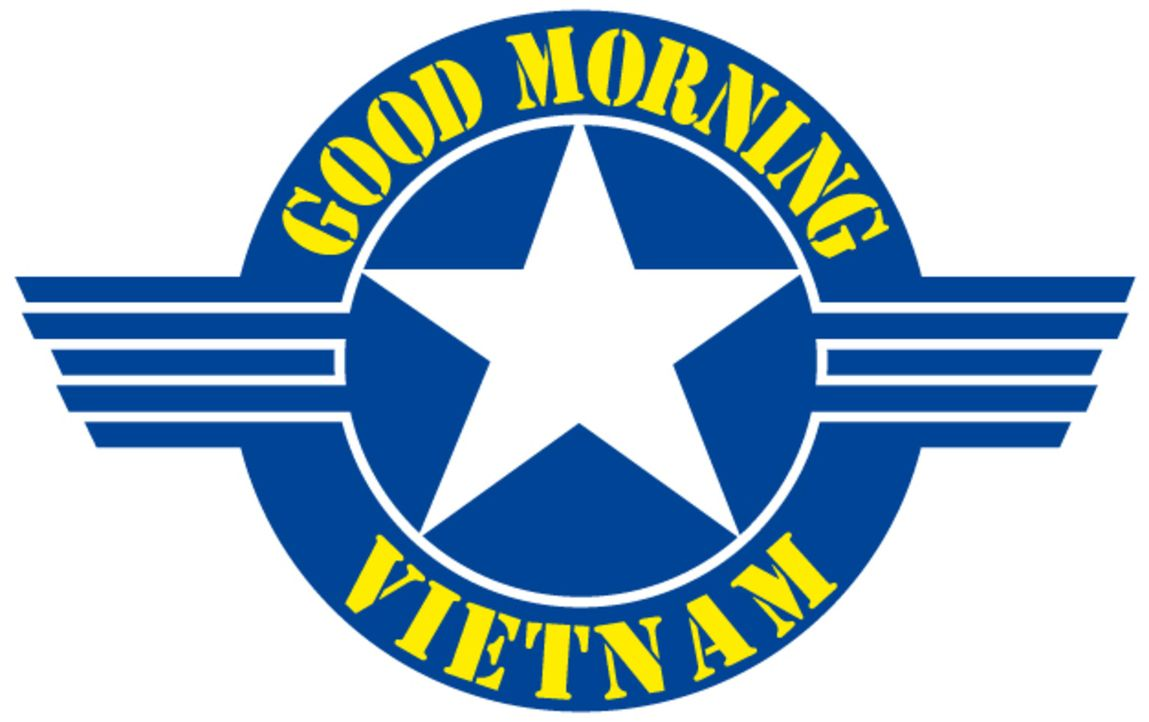 """Good Morning, Vietnam - Logo"" - Bildquelle: Touchstone Pictures"