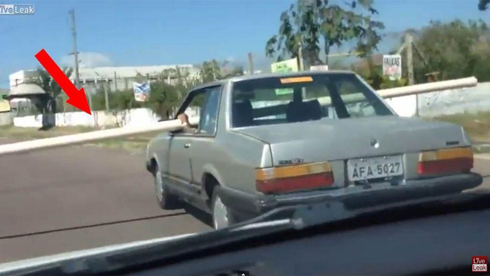 Schräger Rohr-Transport - Bildquelle: Youtube