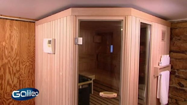 galileo video sauna zum selber bauen prosieben. Black Bedroom Furniture Sets. Home Design Ideas