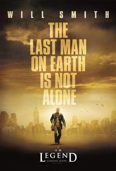 I am Legend - I AM LEGEND - Plakatmotiv - Bildquelle: Warner Brothers Interna...
