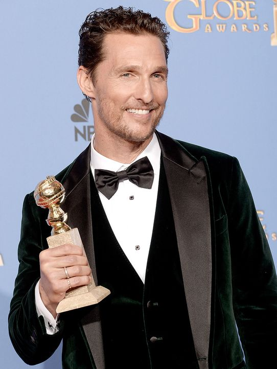 Golden-Globe-Matthew-McConaughey-14-01-12-getty-AFP - Bildquelle: getty-AFP