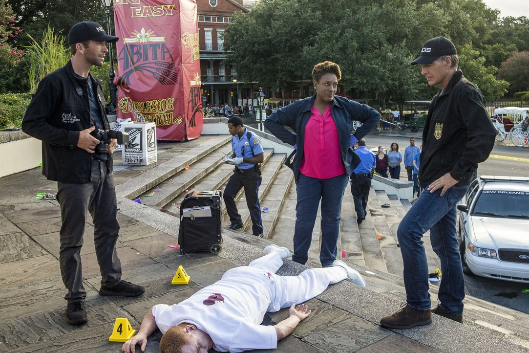 Während einer durchzechten Partynacht fallen plötzlich tödliche Schüsse. Hatte das Opfer einfach nur Pech oder hatte der Schütze es genau auf ihn ab... - Bildquelle: Skip Bolen 2016 CBS Broadcasting, Inc. All Rights Reserved