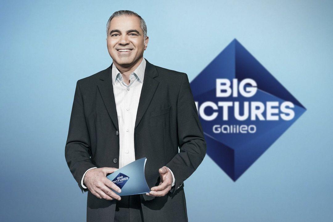 """Aiman Abdallah präsentiert """"Galileo Big Pictures"""". - Bildquelle: Benedikt Müller ProSieben"""