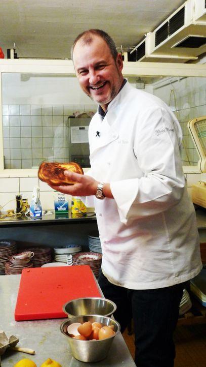 """Das Restaurant """"Eisbein und Steak"""" braucht dringend die Hilfe von Sternekoch Frank Rosin. - Bildquelle: kabel eins"""