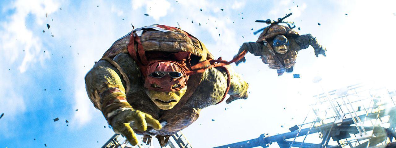teenage-mutant-ninja-turtles-40-Paramount-Pictures - Bildquelle: Paramount Pictures