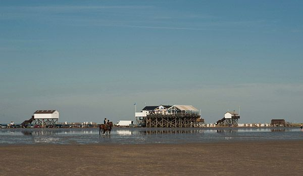 Strand, Dünen und Meer - Bildquelle: Tourismuszentrale Sankt Peter-Ording