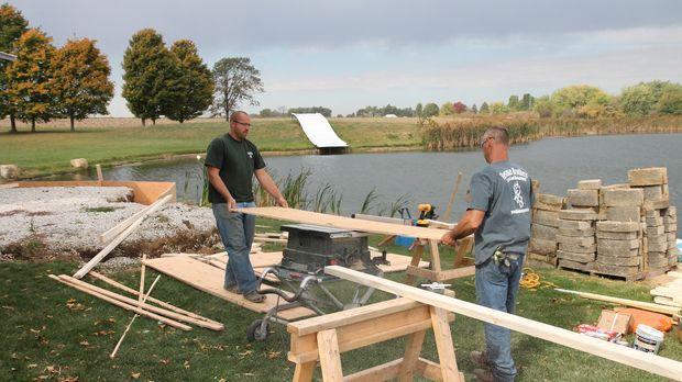 Direkt am See renovieren Nate und Justin eine alte Garage und verwandeln sie...