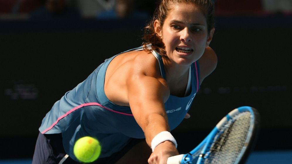 Julia Görges zieht ins Halbfinale von Zhuhai ein - Bildquelle: AFPSIDGREG BAKER