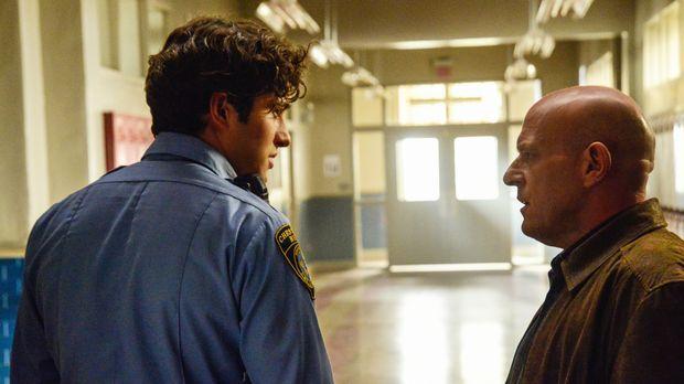 Hat einer der beiden Angie auf dem Gewissen? Big Jim (Dean Norris, r.) und Ju...