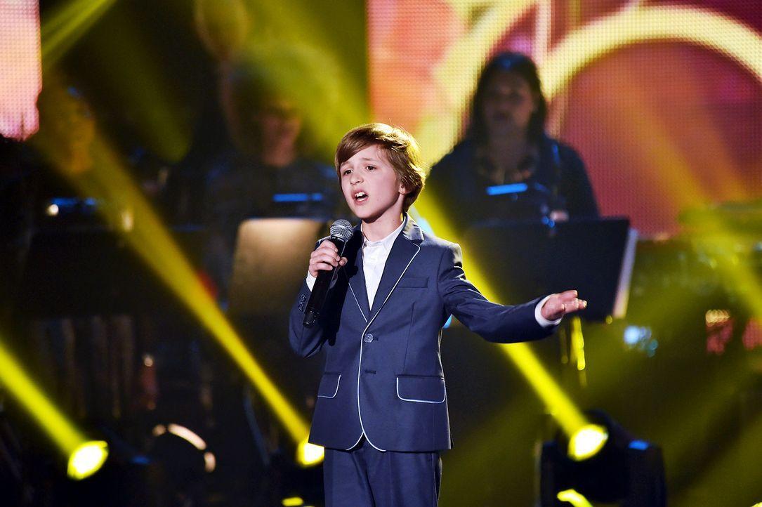 The-Voice-Kids-Stf03-Epi07-Auftritte-21-Nestor-SAT1-Andre-Kowalski - Bildquelle: SAT.1/ Andre Kowalski