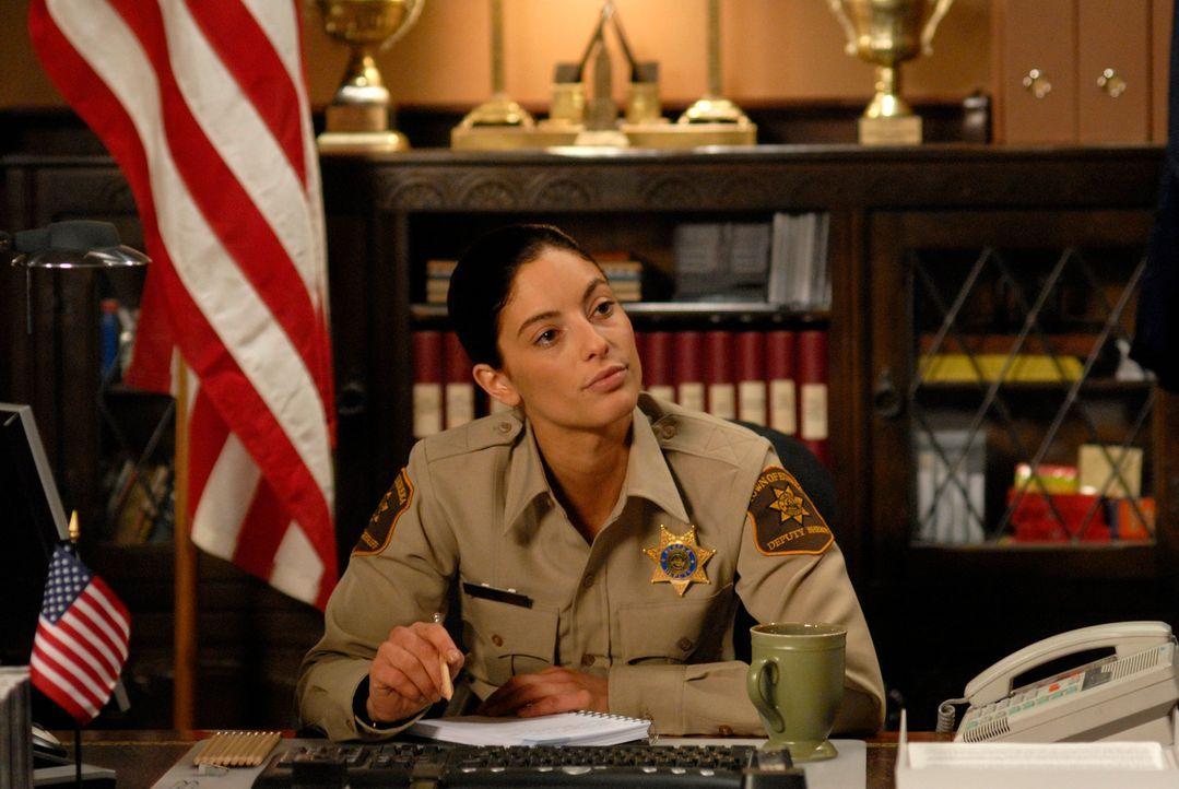 """Sie sollte man nicht verärgern: die ehemalige Elite-Soldatin Josefina """"Jo"""" Lupo (Erica Cerra) ... - Bildquelle: Universal Television"""
