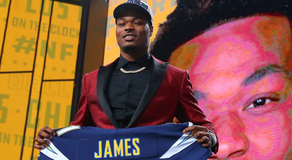 17. Los Angeles Chargers: S Derwin James  - Bildquelle: imago/Icon SMI