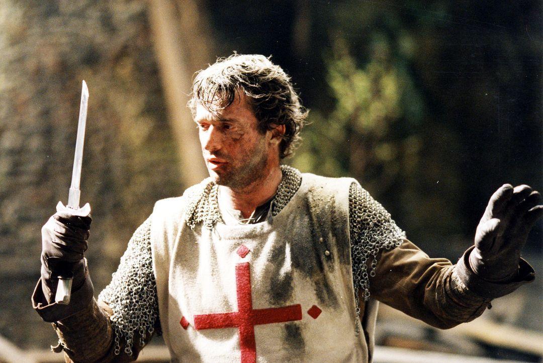 Endlich kehrt Kreuzritter George (James Purefoy) aus dem Heiligen Krieg zurück ins heimatliche England. Statt wie geplant das Schwert ruhen zu lasse... - Bildquelle: ApolloMedia