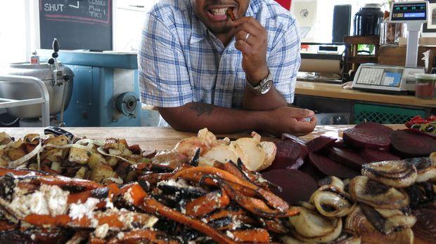 Auf seiner kulinarischen Reise durch die USA trifft Roger Mooking dieses Mal...
