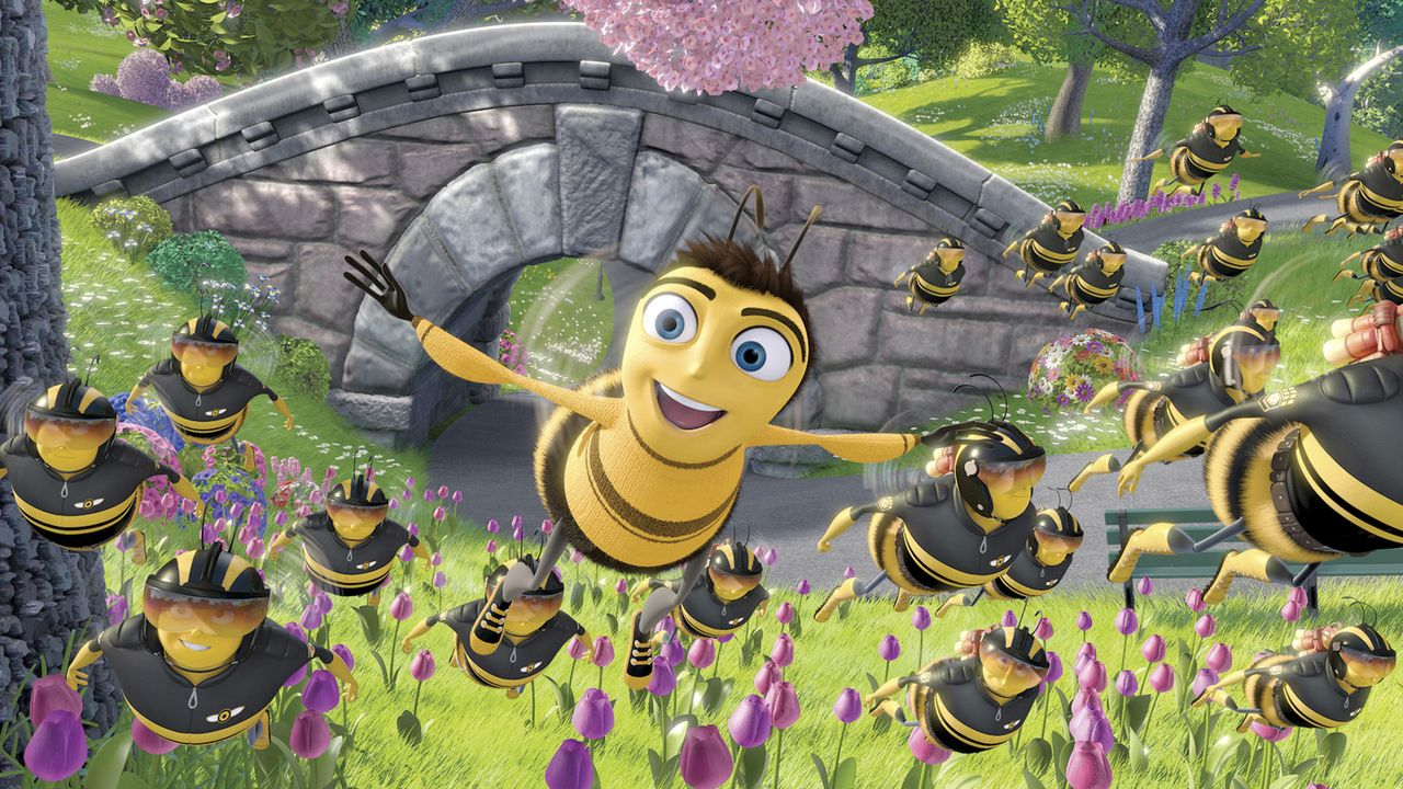 Barry (M.) will nur eins: Frei sein! - Bildquelle: BEE MOVIE TM &   2007 DREAMWORKS ANIMATION LLC. All Rights Reserved.