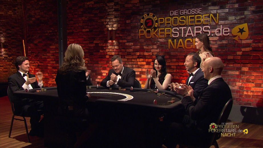 Alle Pokerstars am Tisch