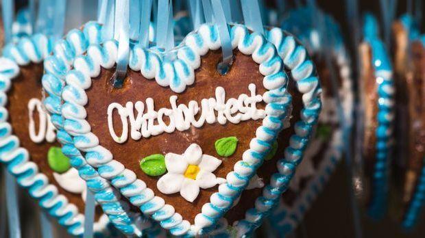 Das Lebkuchenherz ist sehr beliebt – nicht nur auf dem Oktoberfest.