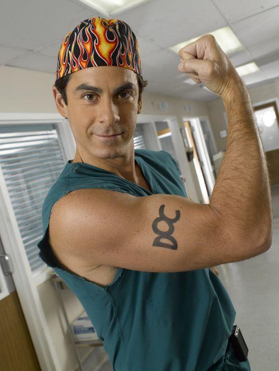 (6. Staffel) - Weiß wie er sich in Szene setzt: Dr. Todd Quinlan (Robert Maschio) ... - Bildquelle: Touchstone Television