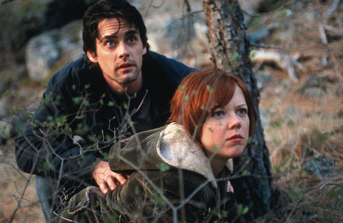 Endlich gelingt es Charlie (Adam Kaufman, r.) und Lisa (Emily Bergl, l.), den Aufenthaltsort ihrer entführten Tochter ausfindig zu machen. Doch dor... - Bildquelle: TM &   DREAMWORKS LLC.All Rights Reserved