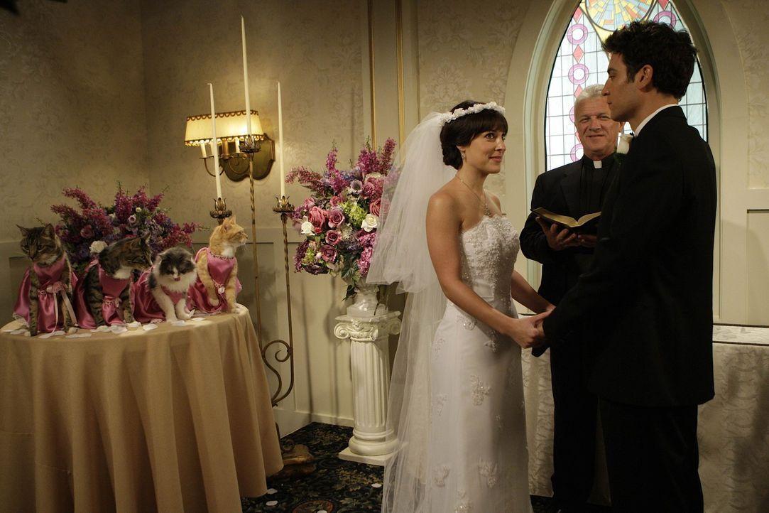 Hätten sich Jen (Lindsay Sloane, l.) und Ted (Josh Radnor, r.) das Ja-Wort gegeben, wenn ihre Dates anderes verlaufen wären? - Bildquelle: 20th Century Fox International Television