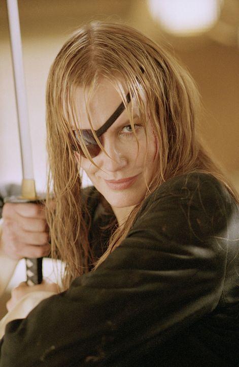 Die einäugige Elle Driver (Darryl Hannah) steht ganz weit oben auf der Todesliste der Braut ... - Bildquelle: Miramax Films. All rights reserved