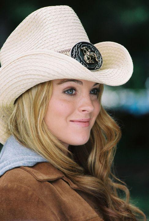 Mary Elizabeth alias Lola (Lindsay Lohan) ist das beliebteste Mädchen an ihrer Schule in New York. Nach ihrem Umzug muss sie feststellen, dass dies... - Bildquelle: MMIV ARGENTUM FILM PRODUKTION GmbH & CO. BETRIEBS KG.  All rights reserved