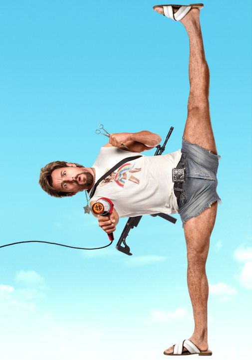 LEG DICH NICHT MIT ZOHAN AN - Artwork - mit Adam Sandler - Bildquelle: 2008 Columbia Pictures Industries, Inc. and Beverly Blvd LLC. All Rights Reserved.