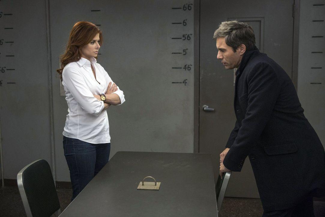 Ein neuer Fall bringt Laura (Debra Messing, l.) und ihren ehemaligen Verlobten (Eric McCormack, r.) wieder zueinander ... - Bildquelle: Warner Bros. Entertainment, Inc.