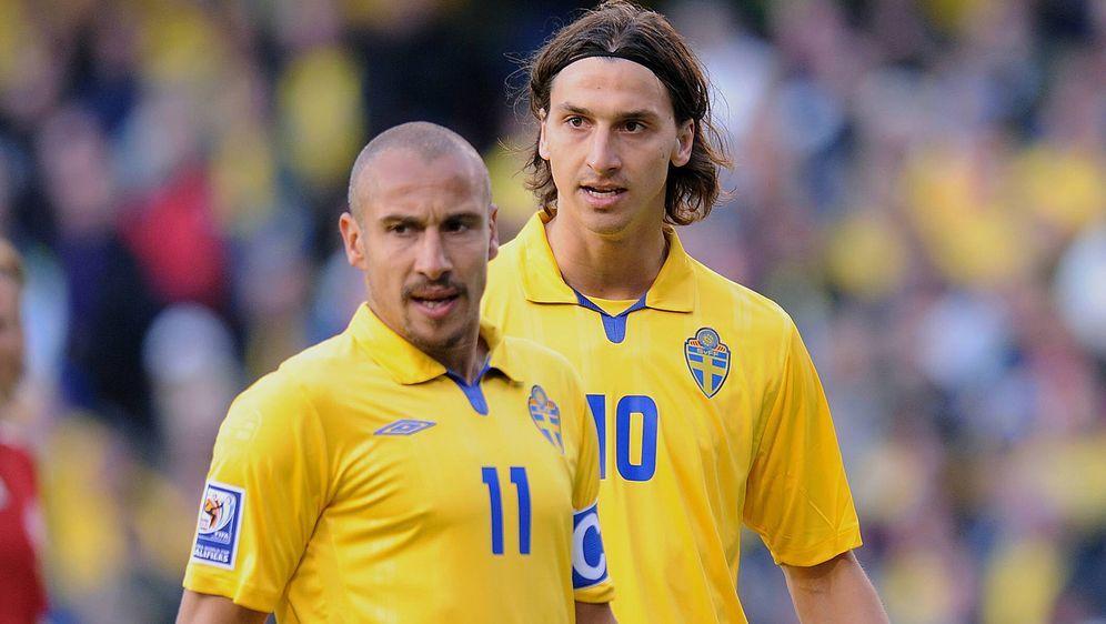 Henrik Larsson und Zlatan Ibrahimovic gelten als beste schwedische Fußballer... - Bildquelle: imago sportfotodienst