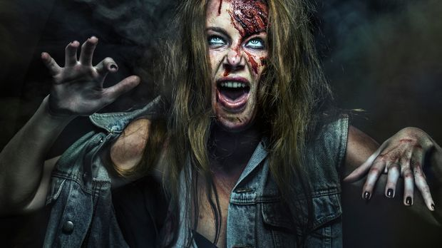 Zombies dürfen ruhig viel Haarspray und etwas Heilerde im Haar verteilen, dam...