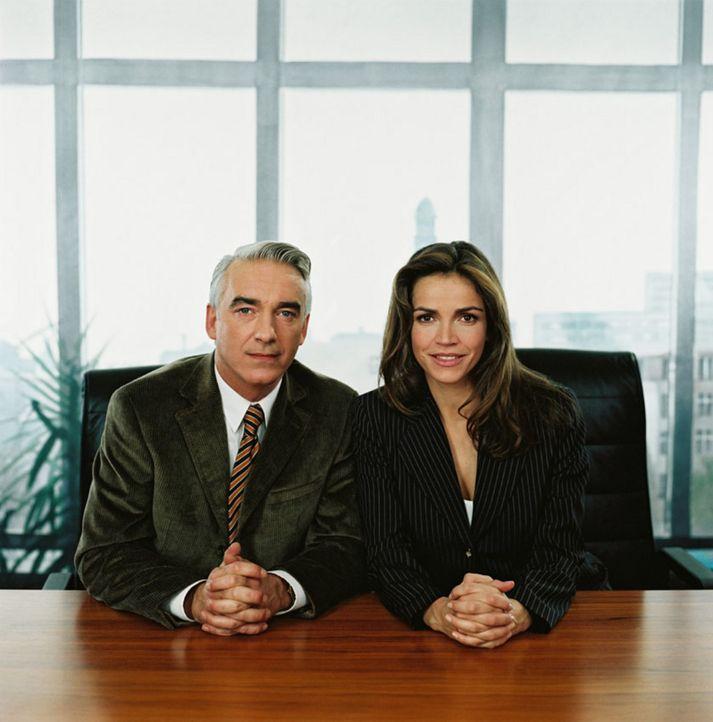 Christoph M. Ohrt und Rebecca Immanuel - Bildquelle: Thorsten Eichhorst Sat.1