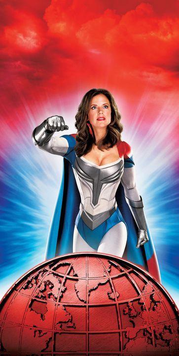 Superheldin Jetstream (Kelly Preston) ist enttäuscht, dass ihr Sohn über keinerlei Superfähigkeiten zu verfügen scheint .. - Bildquelle: Walt Disney Pictures. All rights reserved