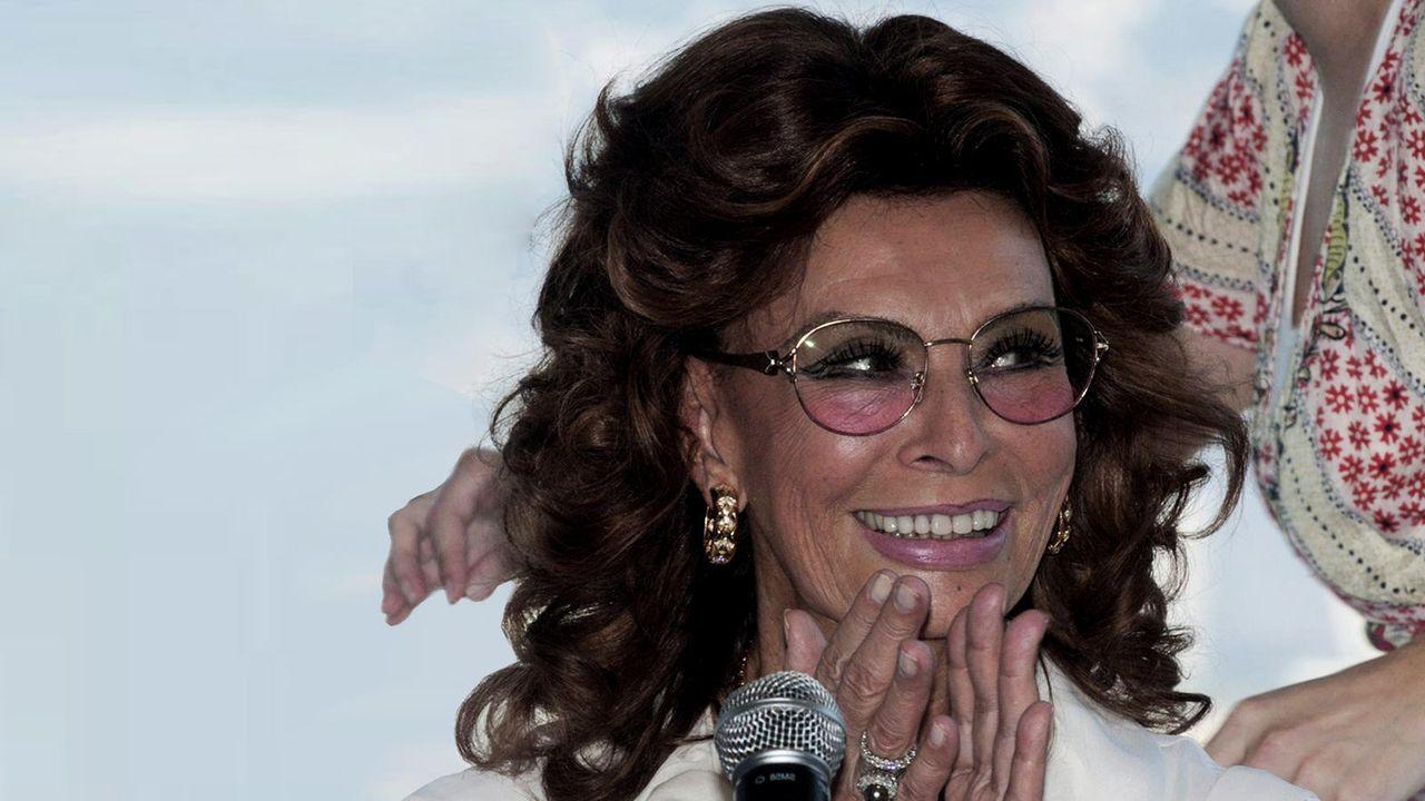 Sophia Loren - Bildquelle: dpa