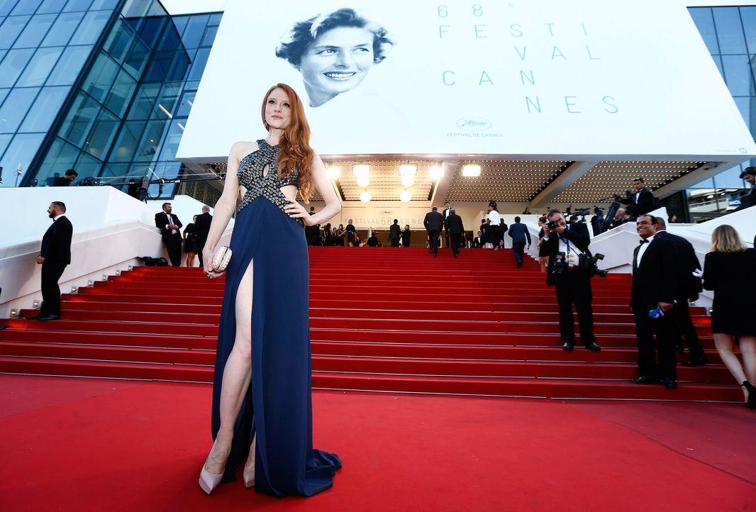 Cannes-Film-Festival-Barbara-Meier-150518-06-dpa - Bildquelle: dpa