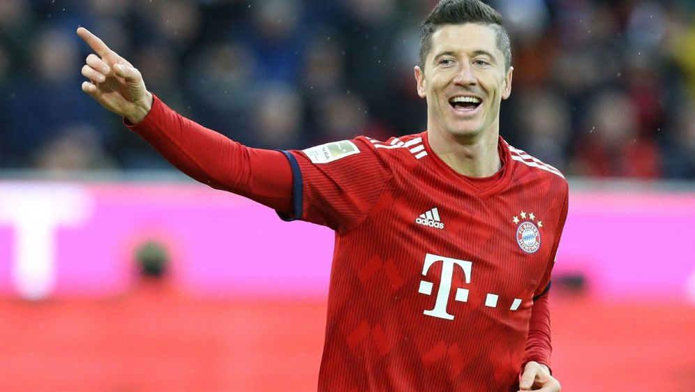Lewandowski brachte die Bayern auf die Siegerstraße - Bildquelle: PIXATHLONPIXATHLONSID
