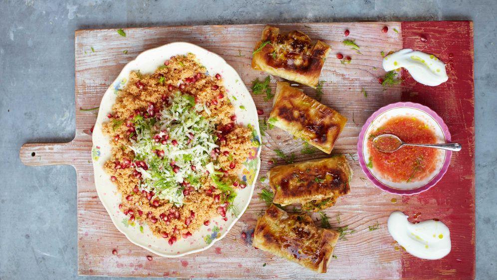 Krabben Im Teig Briktaschen Nach Jamie Oliver
