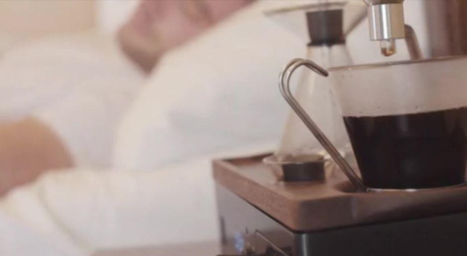 fruhstucksfernsehen video the barisieur dieser wecker weckt mit kaffee sat 1